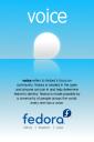 Fedora Voice Poster